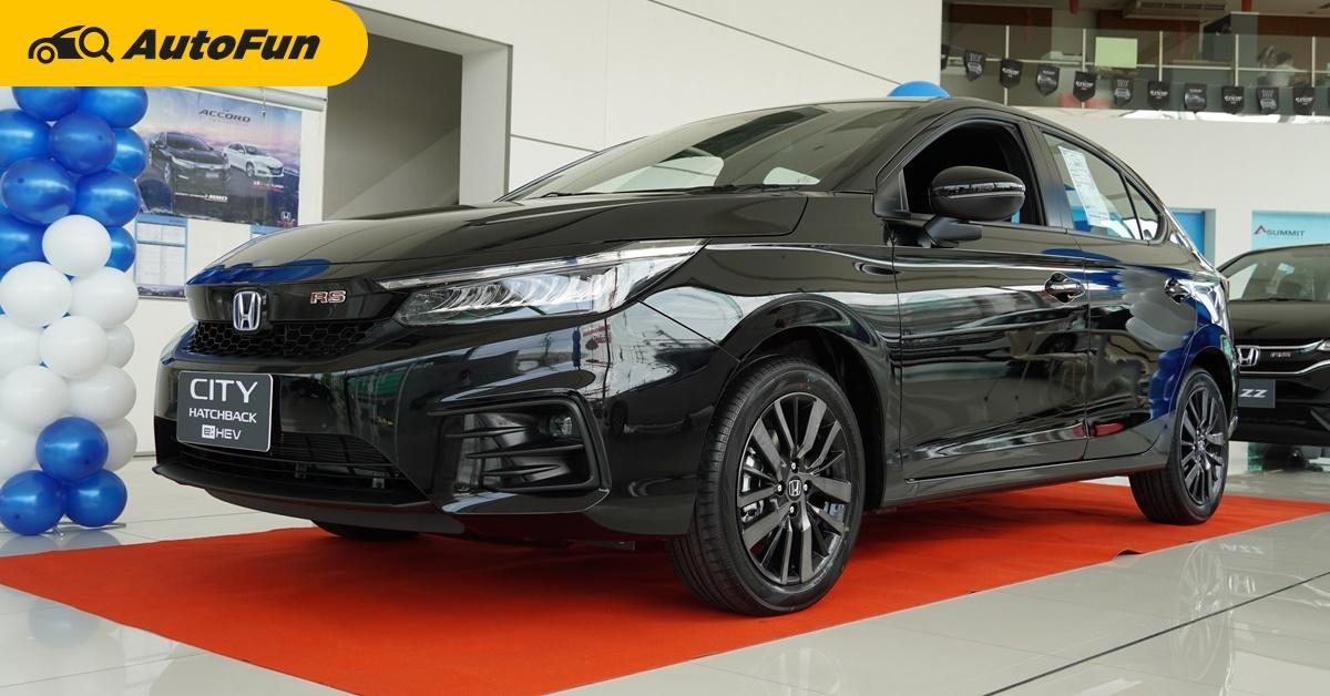 พาชมคันจริง 2021 Honda City Hatchback e:HEV จ่ายเพิ่ม 1 แสนบาท คุ้มไหมมาชมกัน 01