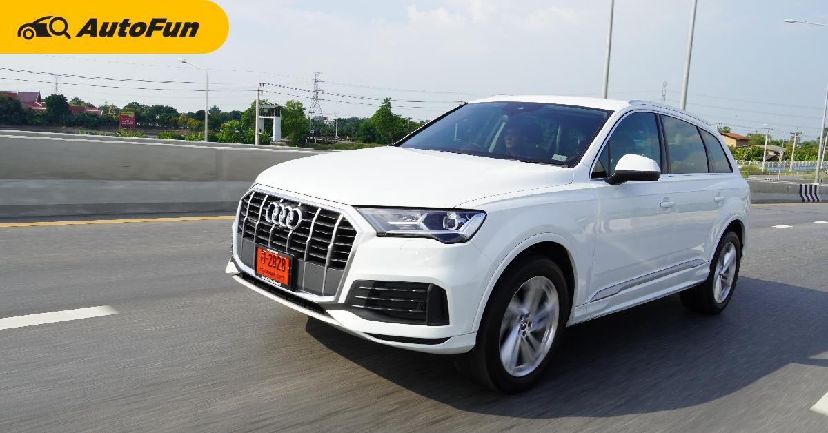 Review : Audi Q7 3.0 TDi ไซส์ยักษ์แรงกระชากใจ ในราคาถูกกว่า Benz และ BMW ทำได้ยังไงกัน ? 01
