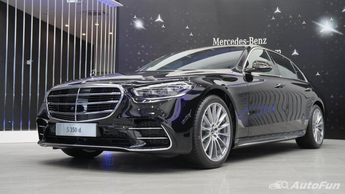 2021 Mercedes-Benz S-Class S 350 d AMG Premium Exterior 001