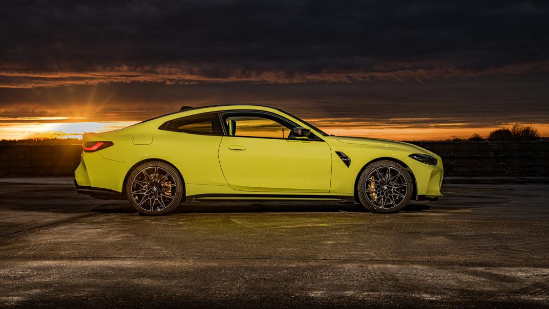2021 BMW M4 Coupe Competition Exterior 011