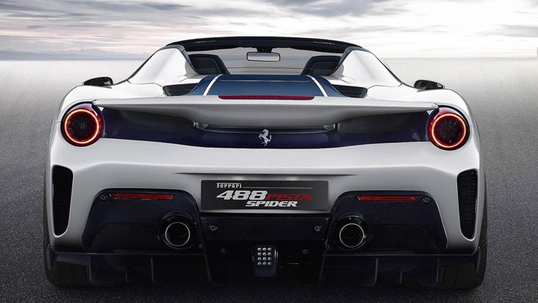 2020 3.9 488 Pista Spider V8 Exterior 001