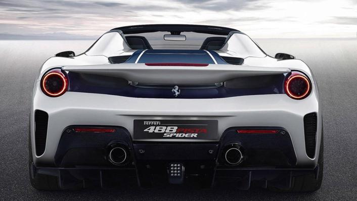 2020 Ferrari 488 Pista Spider 3.9 V8 Exterior 001
