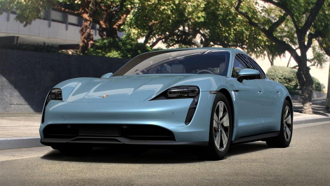 2020 Porsche Taycan Exterior 004