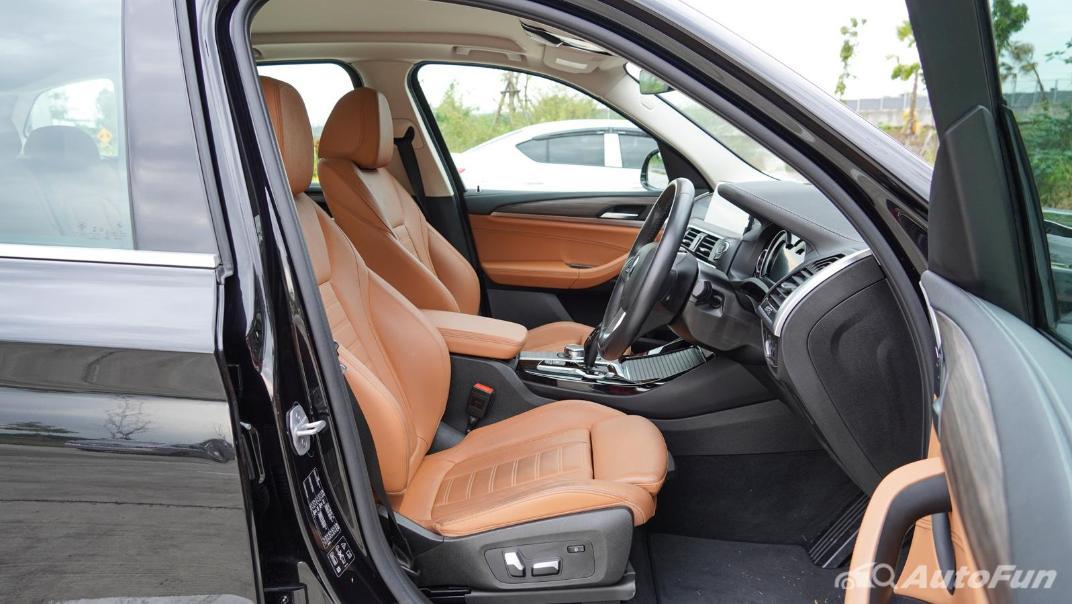 2020 2.0 BMW X3 xDrive20d M Sport Interior 045