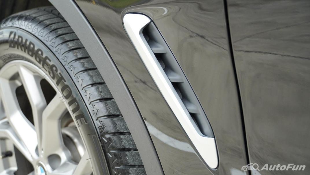 2020 2.0 BMW X3 xDrive20d M Sport Exterior 042