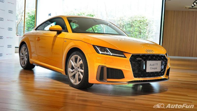 ชมคันจริง 2021 Audi TT รุ่นปรับออพชั่น เพิ่มแรง แต่งสวย ราคา 3.399 ล้านบาท 02
