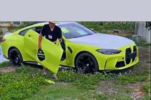 เผยคลิป 2021 BMW M4 ถูกสื่อจีนเจาะประตูมาทำเป็นเตาไฟ เนียนจนเกือบจับไม่ได้