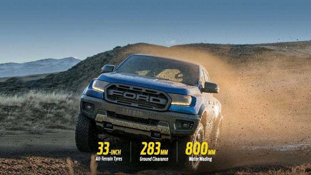 Ford Ranger Raptor 2020 Exterior 002