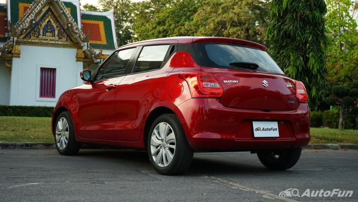 2020 Suzuki Swift 1.2 GL CVT Exterior 007