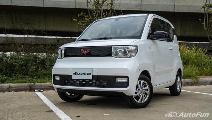 2020 Wuling Mini EV Exterior 009
