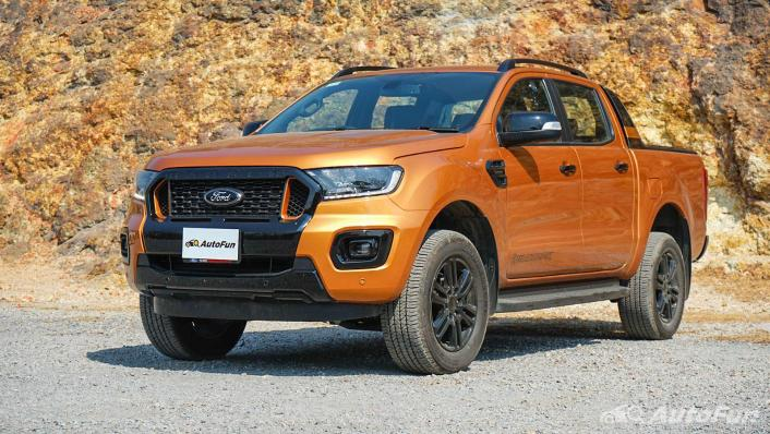 2020 Ford Ranger Double Cab 2.0L Turbo Wildtrak Hi-Rider 10AT Exterior 001