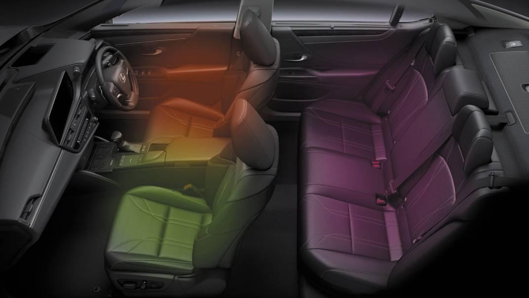 2021 Lexus ES 300h Premium Interior 012