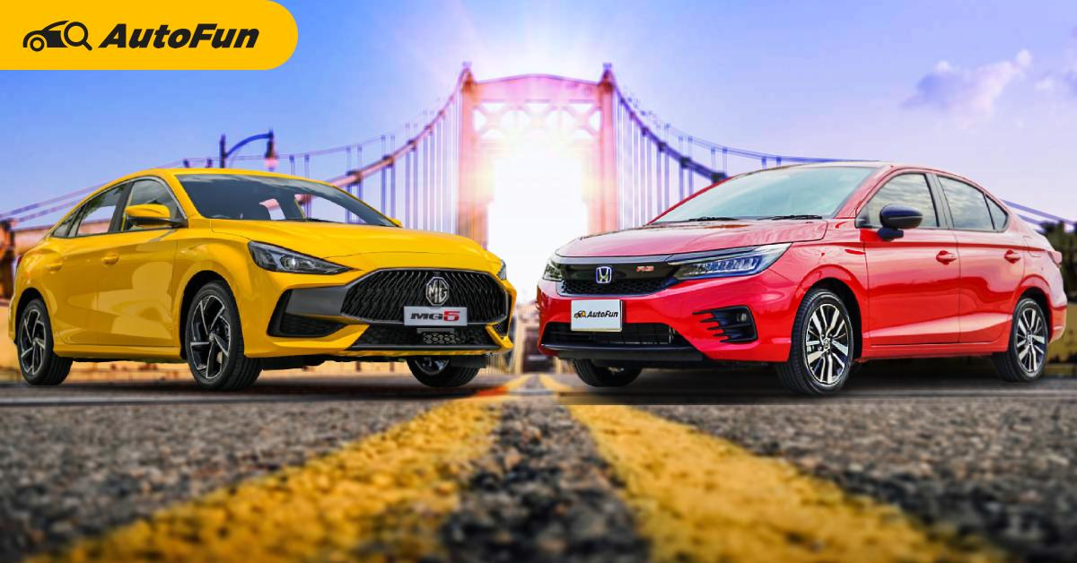 เทียบราคาซ่อมบำรุง 2021 MG5 กับ 2021 Honda City Turbo พบว่าสูสี เฉือนกันแค่ค่าแรง 01