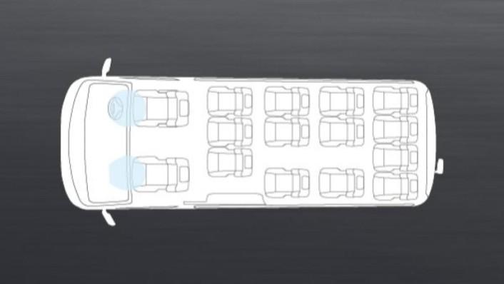 Nissan Urvan 2020 Interior 008