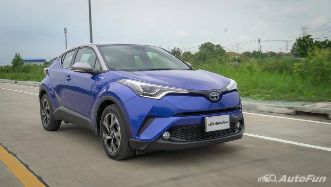 2021 Toyota C-HR Hybrid Premium Safety Exterior 016