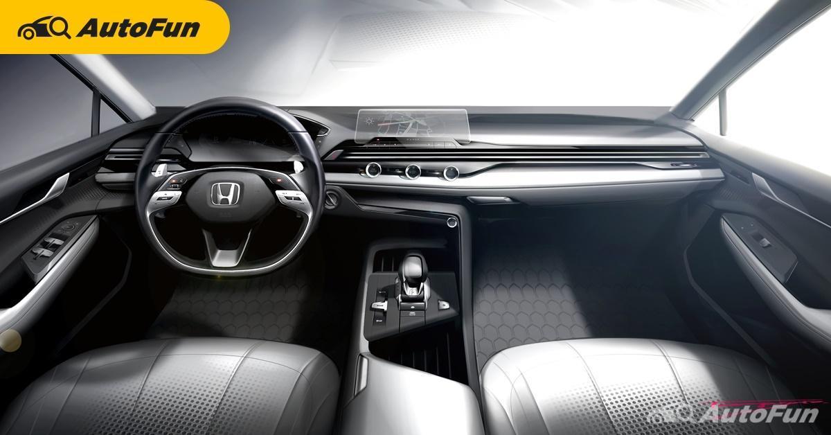 Honda เผยแนวคิดการออกแบบห้องโดยสารยุคใหม่ดูเรียบกว่าเดิม เริ่มใช้กับ 2022 Honda Civic 01