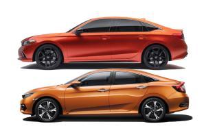 2022 Honda Civic รุ่นใหม่ แต่ไอเดียดีไซน์จากซีวิคเก่า เจาะภาพจริง 6 ชิ้นส่วนนี้มาจากไหน ?