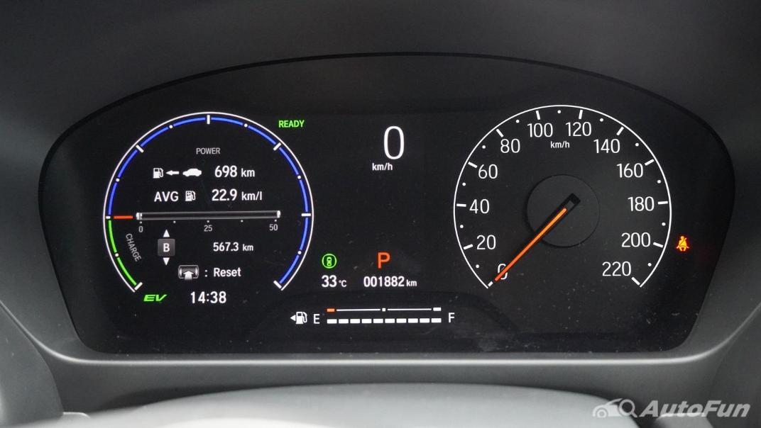 2021 Honda City e:HEV RS Interior 004