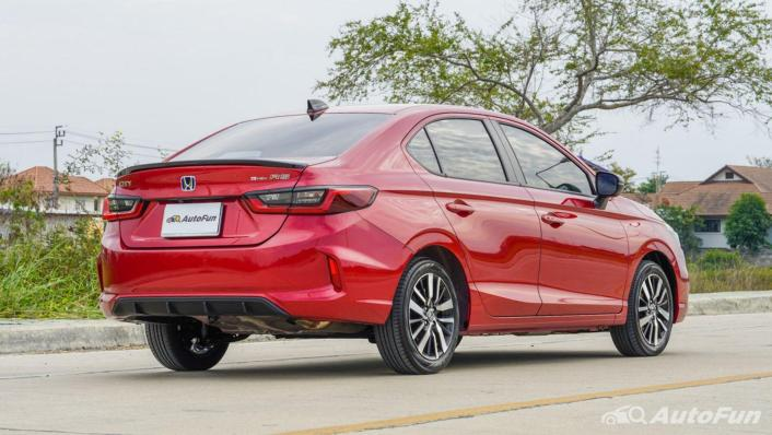 2021 Honda City e:HEV RS Exterior 005
