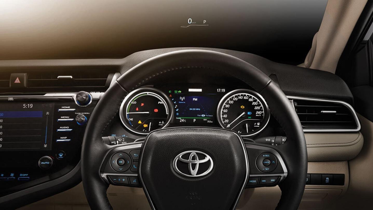 Toyota Camry 2020 Interior 013