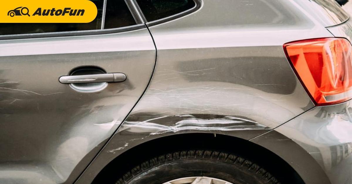 จริงหรือ? ใช้น้ำร้อนซ่อมรอยบุบรถยนต์ได้? รวมวิธีซ่อมสีรถแปลก ๆ ที่อาจไม่ง่ายอย่างที่คิด 01