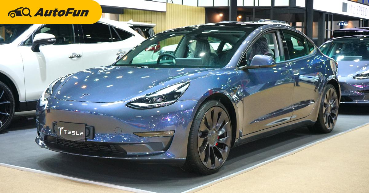 ชมคันจริง Tesla Model 3 Performance ขายไทยราคา 4.29 ล้านบาท มีออพชั่นที่รถใช้น้ำมันต้องชิดซ้าย 01
