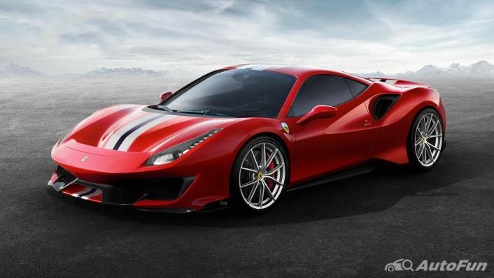 2020 Ferrari 488 Pista 3.9 V8 Exterior 006