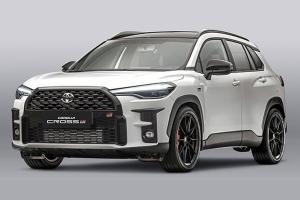 2021 Toyota Corolla Cross ชุดแต่ง GR Parts หล่อแซ่บลืม Honda HR-V