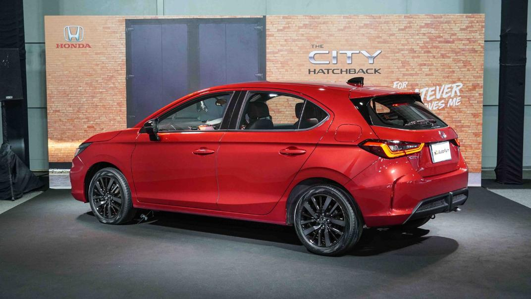 2021 Honda City Hatchback 1.0 Turbo RS Exterior 048