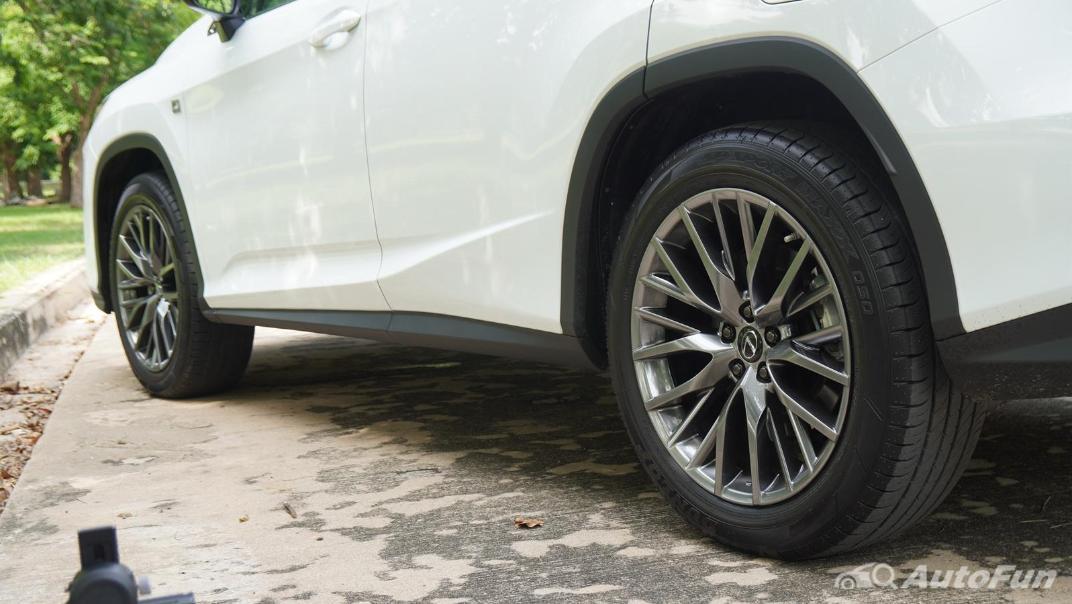 2020 Lexus RX 3.5 350 F Sport Exterior 048