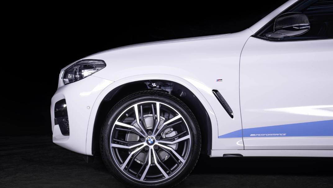 2021 BMW X3 xDrive20d M Sport Exterior 008