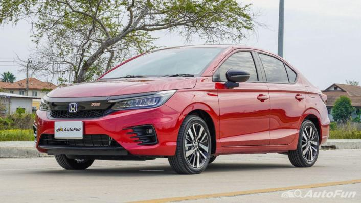 2021 Honda City e:HEV RS Exterior 001