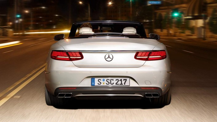 Mercedes-Benz S-Class Cabriolet 2020 Exterior 002