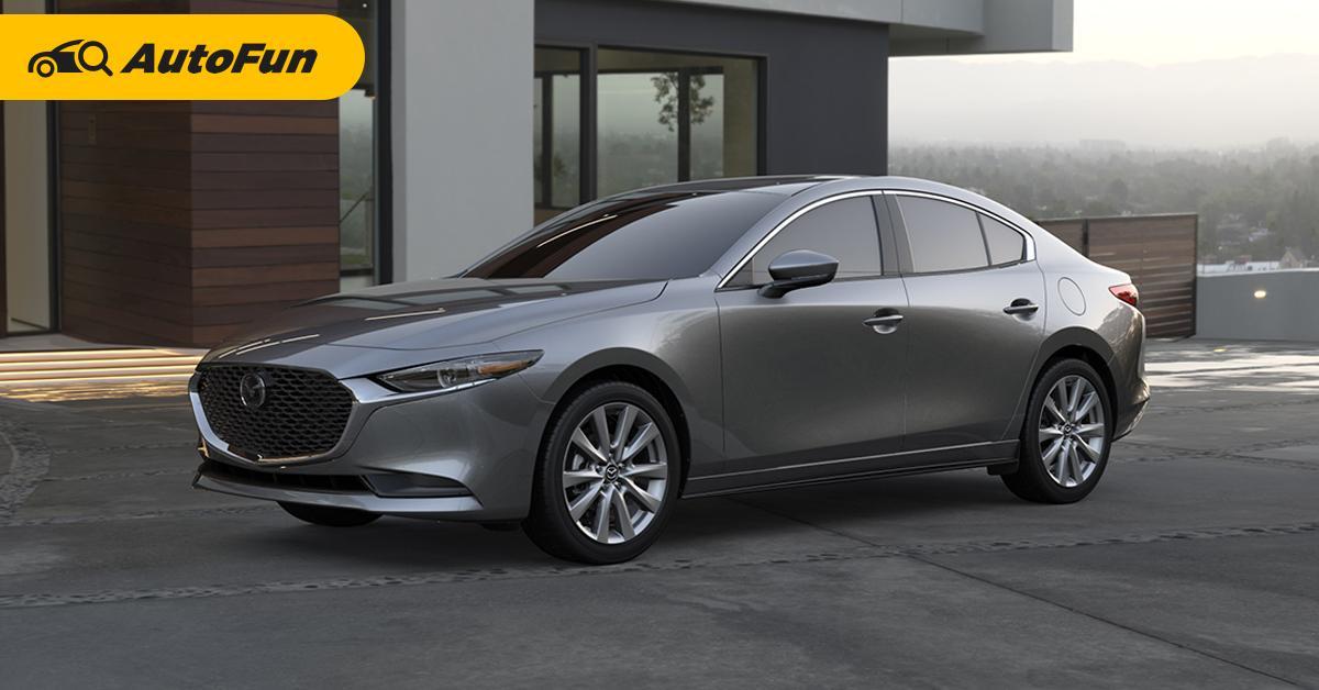สวยแต่รูปจูบไม่หอม? ทำไม 2019 Mazda 3 ใหม่ทำยอดขายสู้คู่แข่งไม่ได้ 01