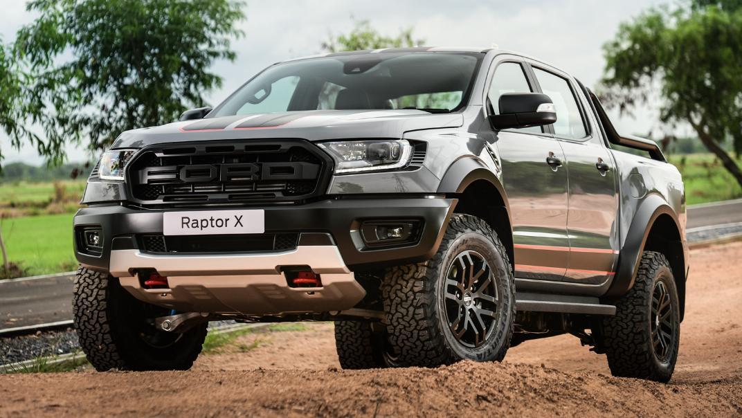 2021 Ford Ranger Raptor X Exterior 001