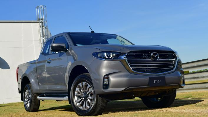 2021 Mazda BT-50 Freestyle cab Upcoming Version Exterior 001