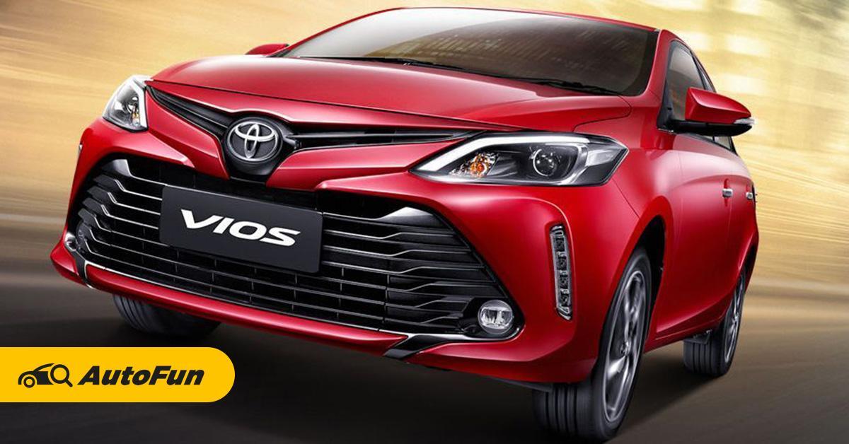 ตารางเงินดาวน์ 2019-2020 new Toyota viosโตโยต้าวีออสราคา 6.09แสนบาท 01