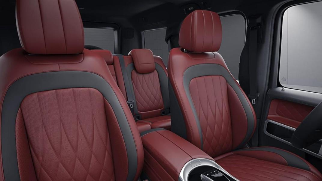 Mercedes-Benz G-Class Public 2020 Interior 010