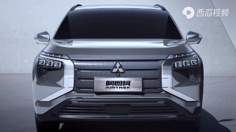 ภาพใหม่ 2021 Mitsubishi Airtrek EV เอสยูวีไฟฟ้าขนาดเล็ก ที่อาจแย่งยอดขาย MG ZS EV ได้สบาย 02
