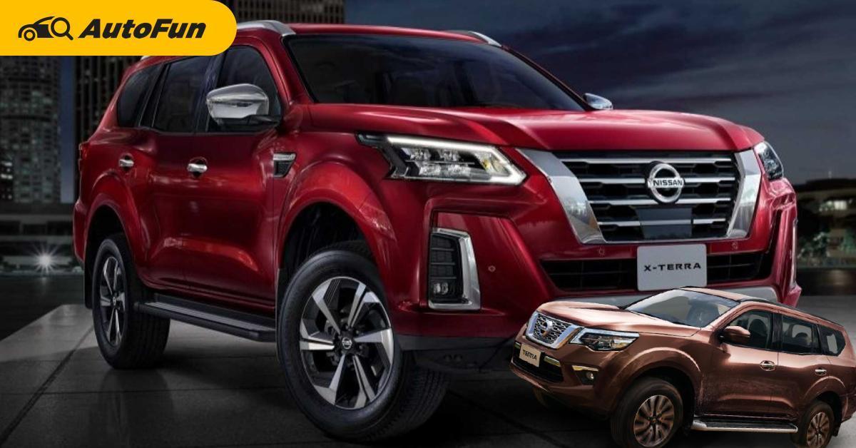 ส่อง 2021 Nissan Terra ใหม่สวยใสมีอะไรต่างไปจากเดิมบ้าง พร้อมเสริมทัพไทยเดือนหน้า 01