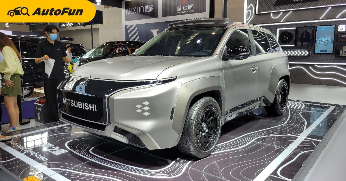 2022 Mitsubishi Outlander EV ต้นแบบแต่งสุดล้ำ ไร้กระจังแบบไฟฟ้า ทำไมไทยไม่ขายบ้าง 01