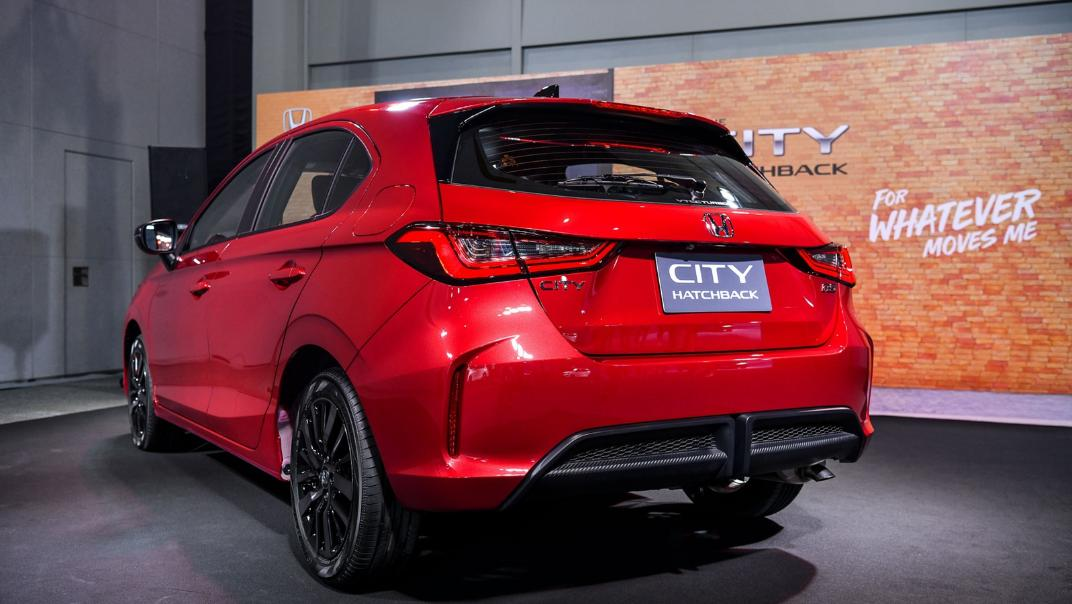 2021 Honda City Hatchback 1.0 Turbo RS Exterior 026