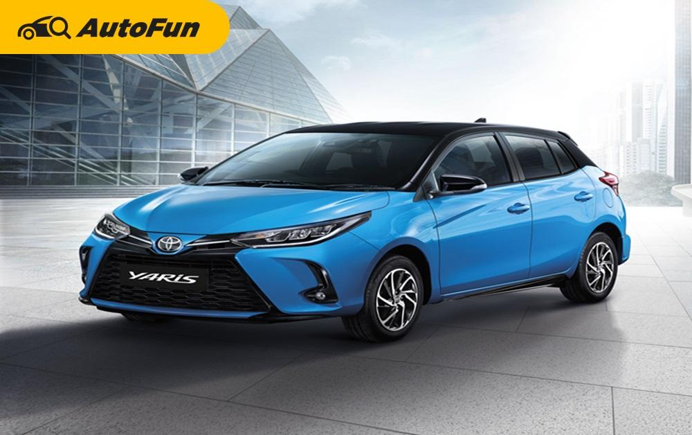 2020 Toyota Yaris Minorchange แฮทช์แบ็คยอดฮิตพร้อม 5 สิ่งใหม่ที่เปลี่ยนไป 01