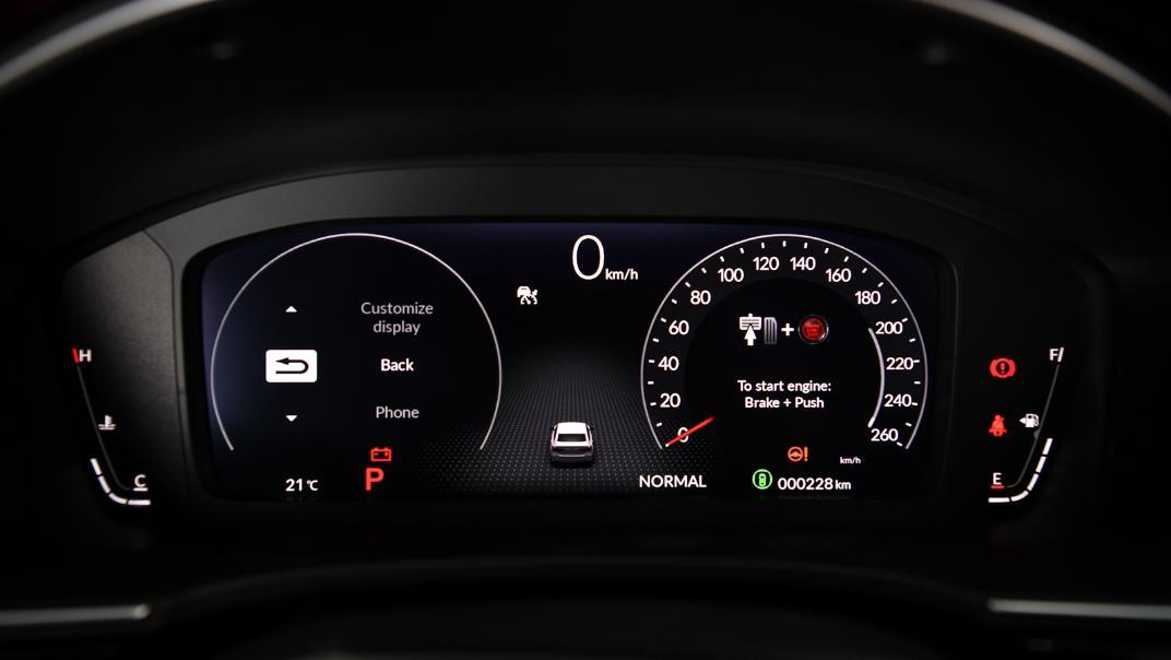 2022 Honda Civic RS Interior 024