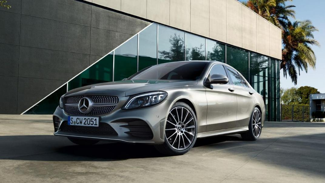 Mercedes-Benz C-Class Saloon 2020 Exterior 012