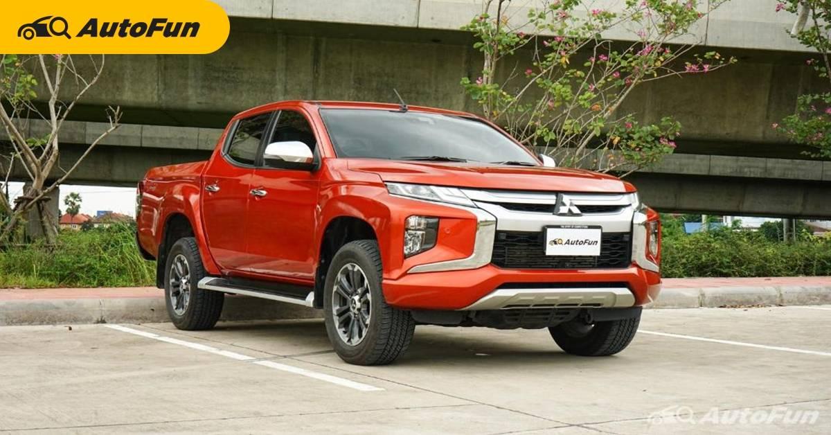 ส่องตารางค่าบำรุงตามระยะ Mitsubishi Triton ขับสี่ หลัง 5 ปีไม่เกิน 20,000 บาท 01