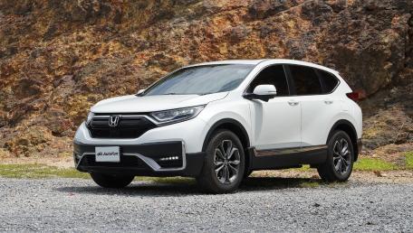 2021 Honda CR-V 2.4 ES 4WD ราคารถ, รีวิว, สเปค, รูปภาพรถในประเทศไทย   AutoFun