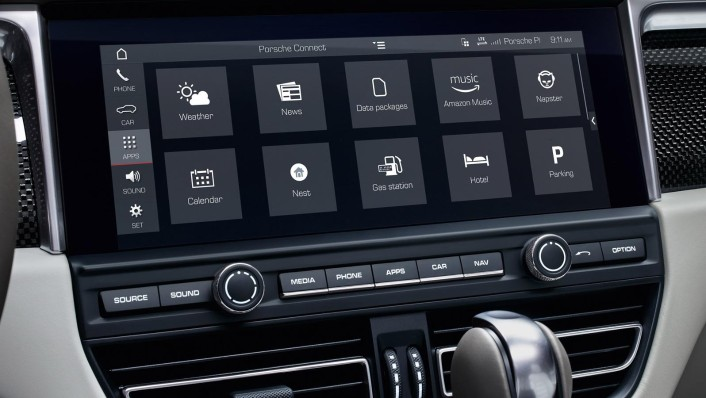 Porsche Macan 2020 Interior 006