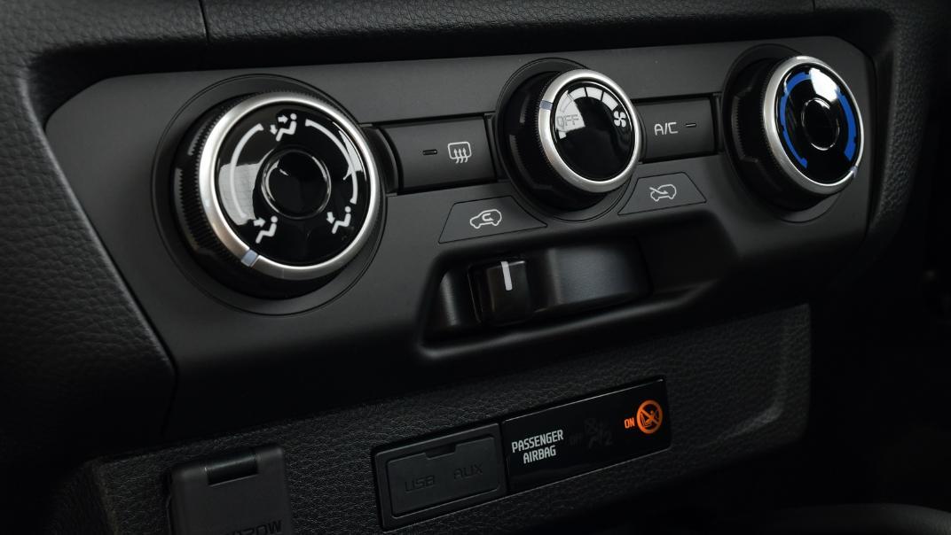 2021 Mazda BT-50 Freestyle cab Upcoming Version Interior 009