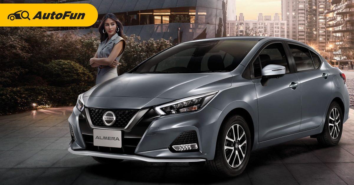เพราะอะไร 2021 Nissan Almera ยอดขายดีขึ้นแซง Toyota Yaris Ativ ดูดท้าย Honda City! 01